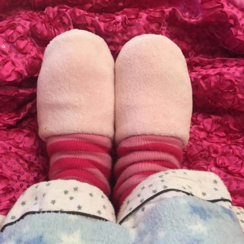 Take off your slippers and dressing gowns!